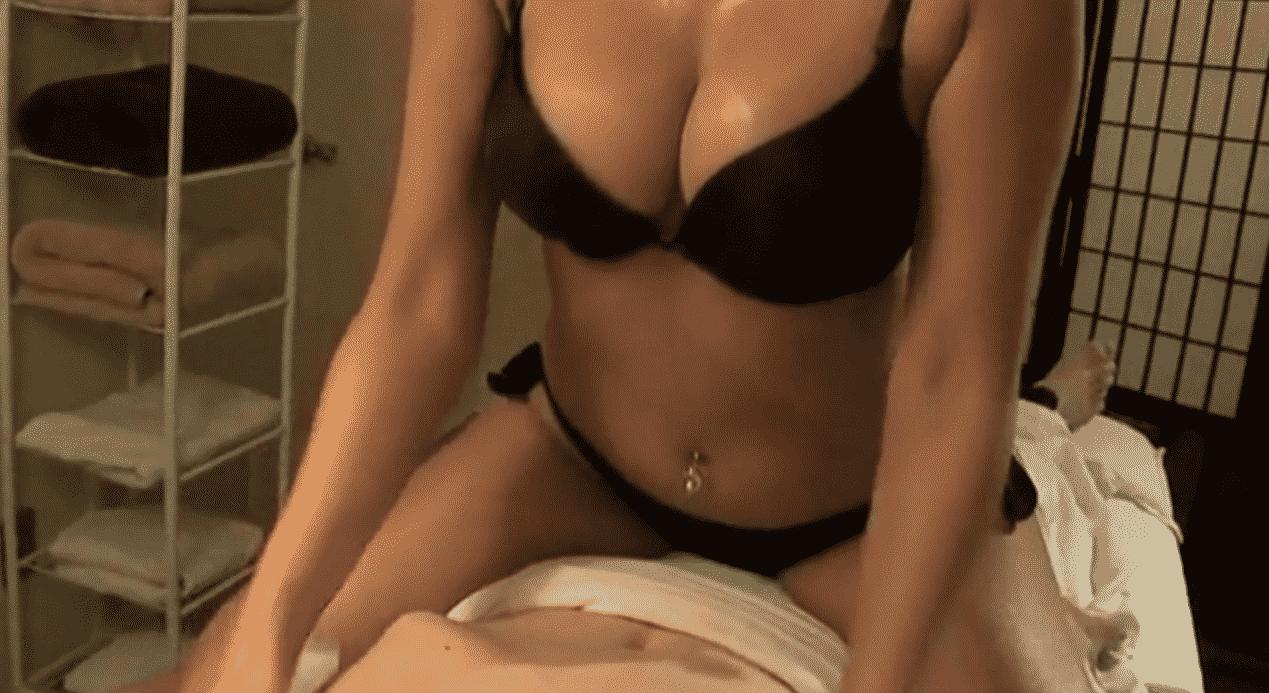 córneo masaje aficionado