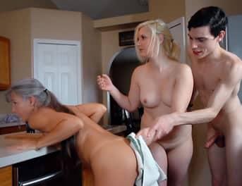 Porno entre familia